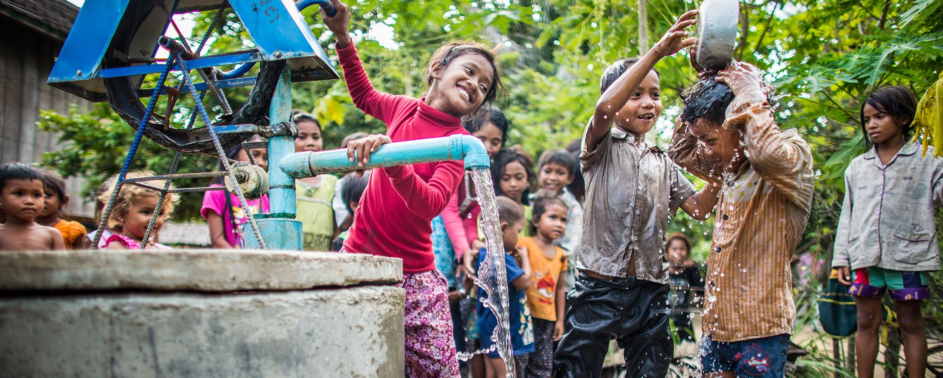 Clean water is an important component of helping to build a healthy community. By providing access to clean water through wells and boreholes is an amazing gift to a community.