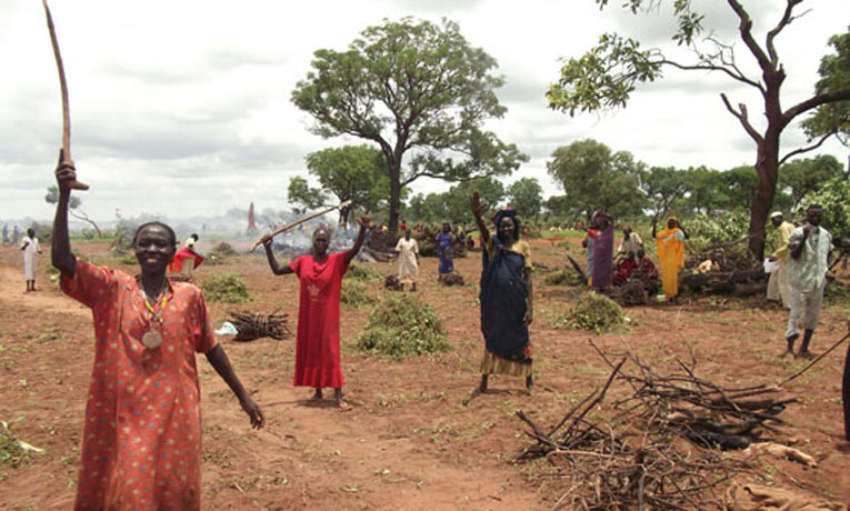 South Sudan Food Drop
