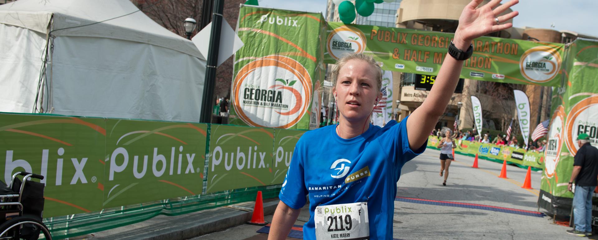 Publix Marathon Runner