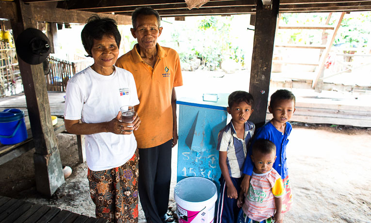 Biosand waterfilter program in Poipet, Cambodia.