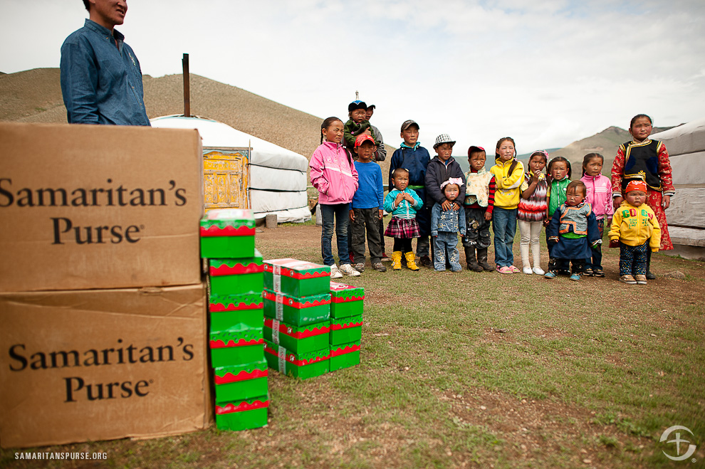 Operation Christmas Child Mongolia