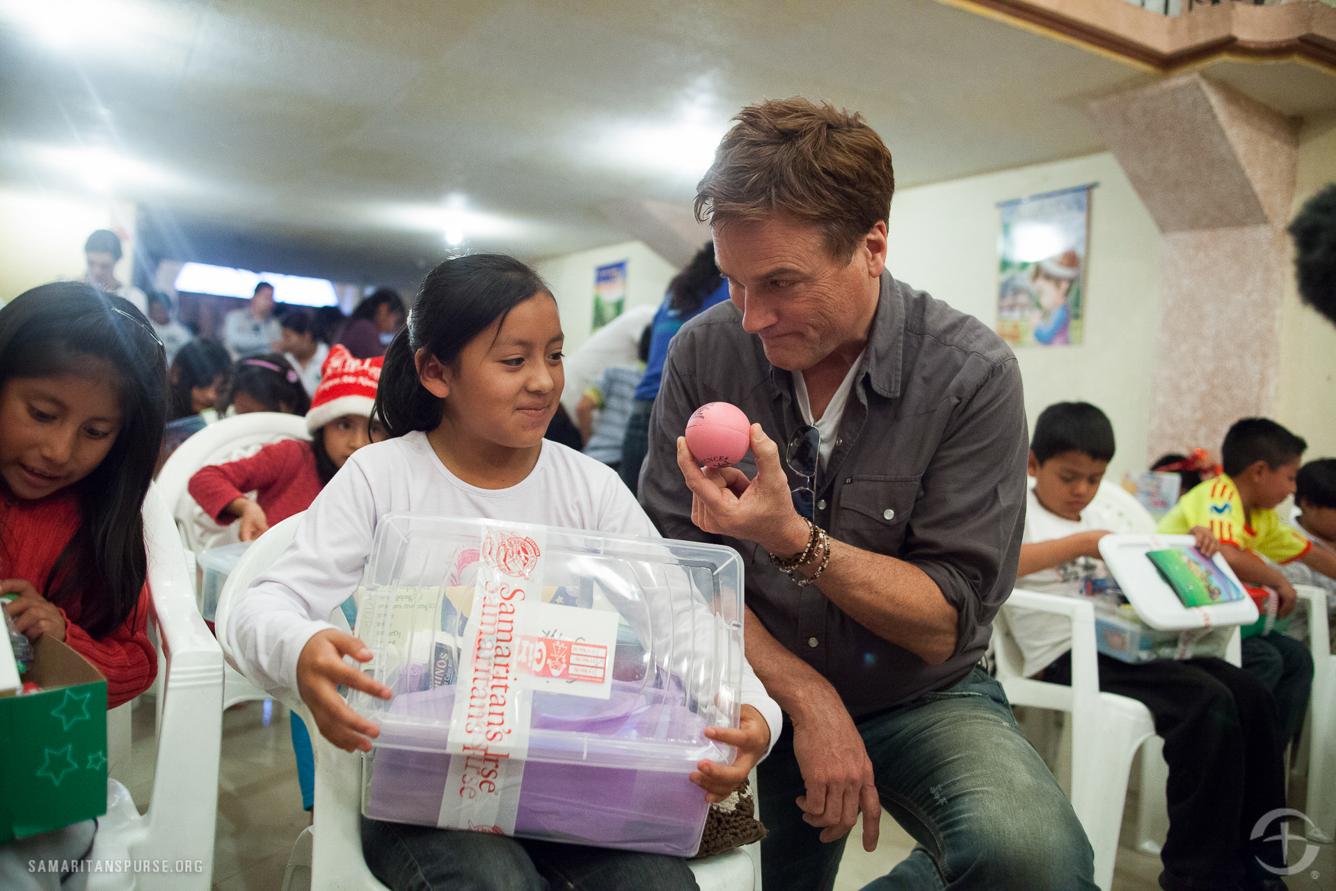 Michael W. Smith is a longtime friend of Samaritan's Purse, and a frequent performer at Franklin Graham Festivals.