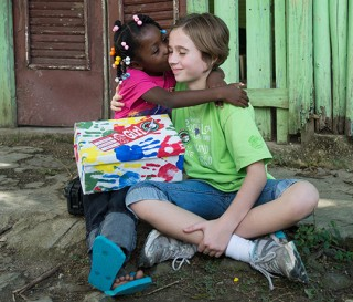 Unusual Christmas Gifts – Shoe Boxes Filled with Toys – Bring Joy to Children in Dominican Republic