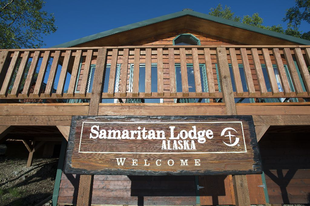 Samaritan Lodge Alaska is located in Port Alsworth in the southern part of the state.The wilderness area can only be reached by small aircraft.