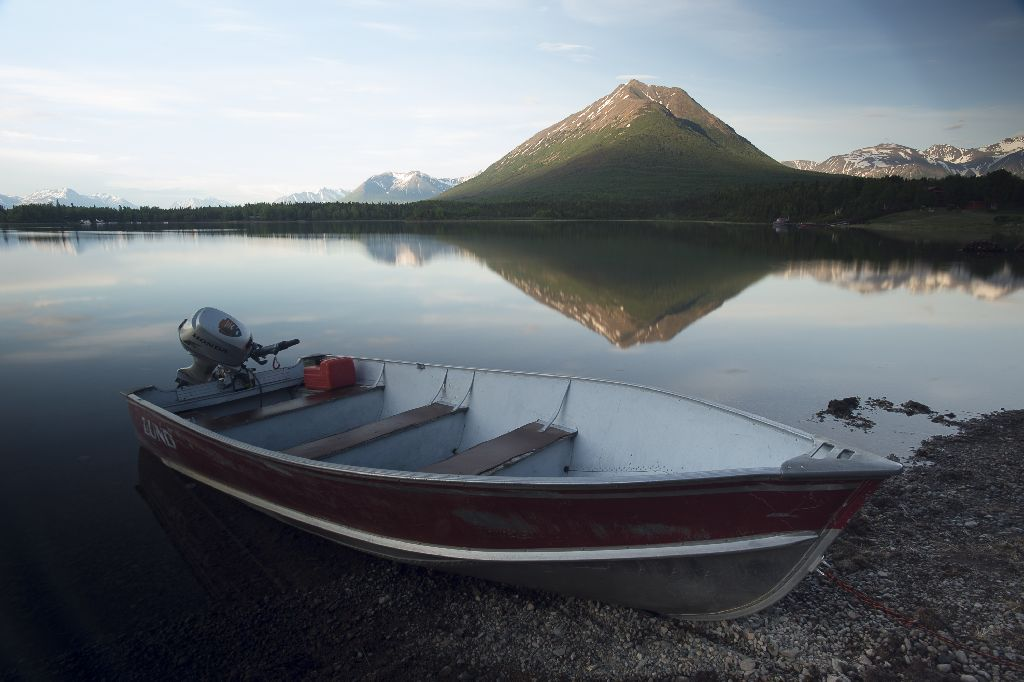 Samaritan Lodge overlooks Lake Clark, one of the deepest lakes in Alaska. Lake Clark spans 42 miles, surrounded by the glories of the Alaskan wild.
