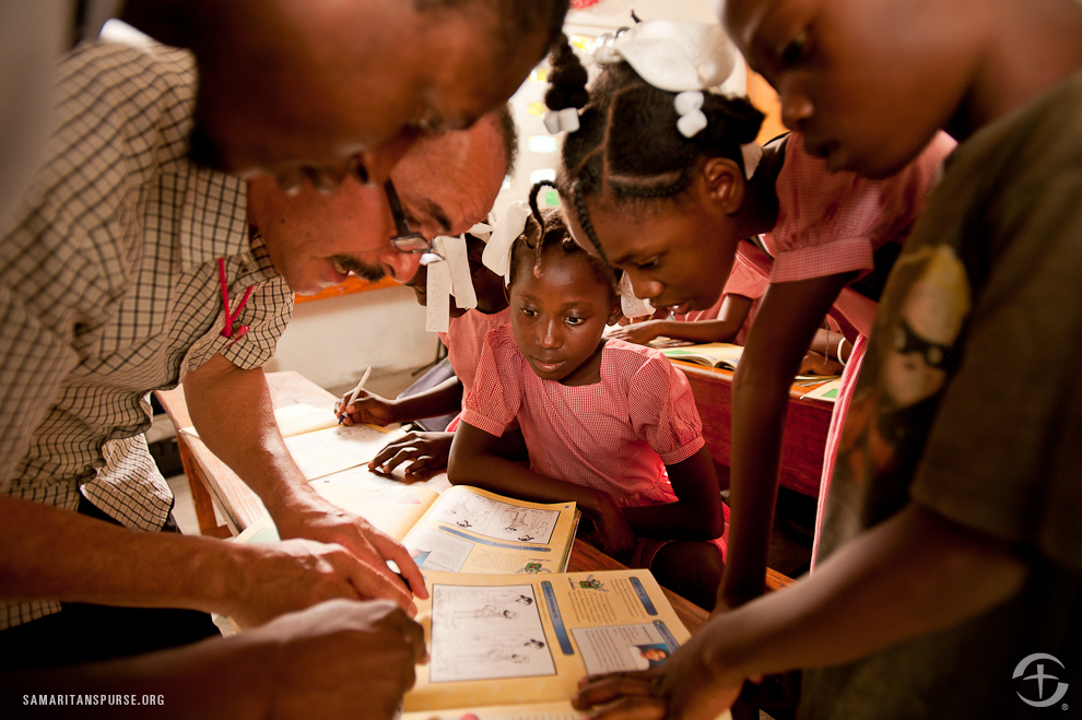 Samaritan's Purse equips local churches around the world with training and materials to teach The Greatest Journey.