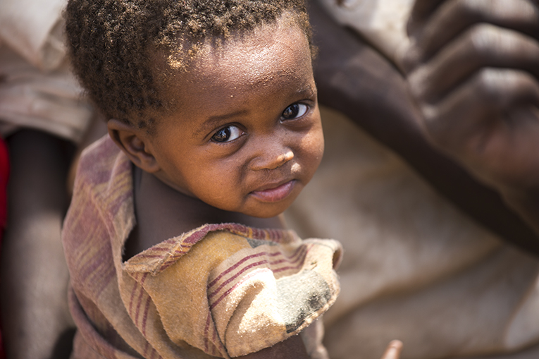 40 percent of the population in Ajuong Thok is children like Hannah, who have fled with their families to escape widespread bombings and starvation in the Nuba Mountains.