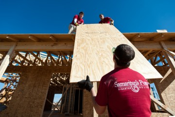 Samaritan's Purse Construction in Tuscaloosa