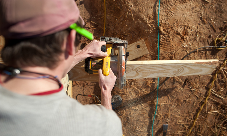 Samaritan's Purse Construction in Tuscaloosa