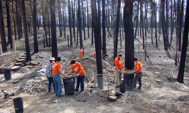 Samaritan's Purse U.S. Disaster Relief Colorado Black Forest Fire