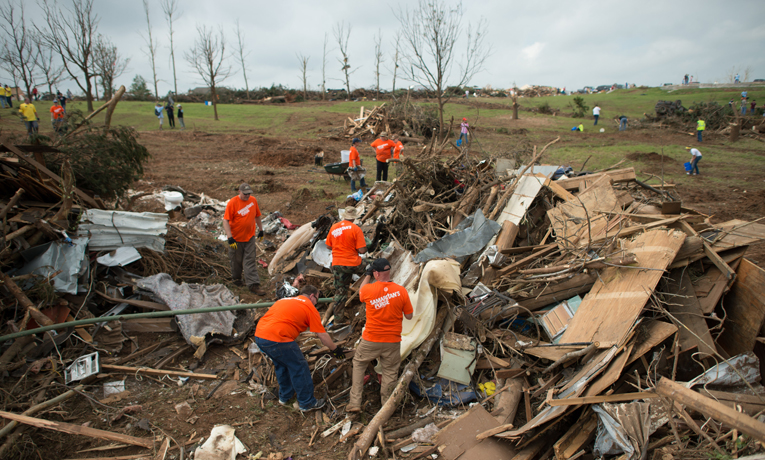 Samaritan's Purse U.S. Disaster Relief Oklahoma