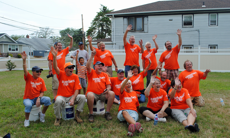 Samaritan's Purse Rebuild New York Hurricane Sandy