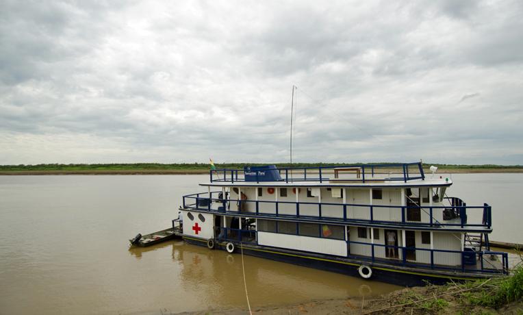 Ruth Bell River Boat Bolivia