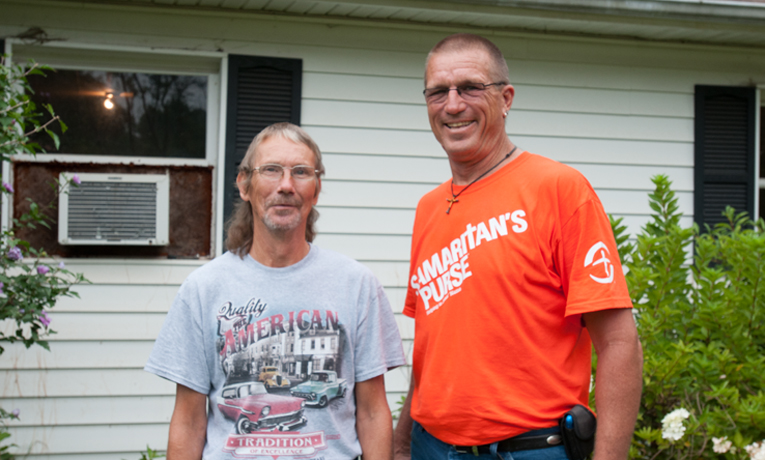 Catawba County flooding Samaritan's Purse U.S. Disaster Relief