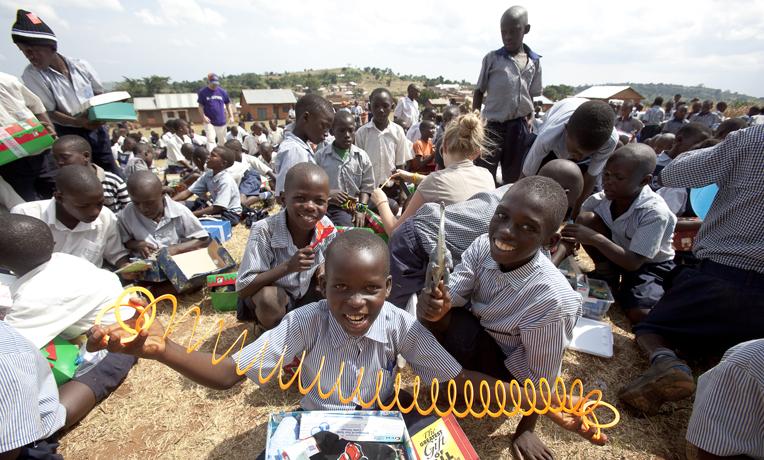 Uganda Operation Christmas Child