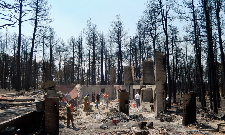 Colorado Wildfires Samaritan's Purse U.S. Disaster Relief