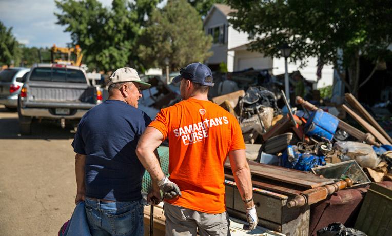 Samaritan's Purse U.S. Disaster Relief Colorado Flooding