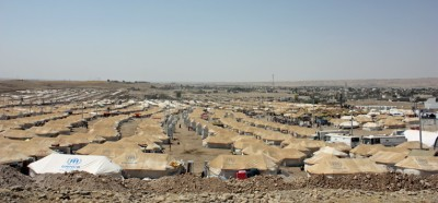 172,000 Syrians have taken refugee in northern Iraq. Most are living in temporary camps.