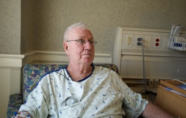 Volunteers working on his home was a great relief to Bill, who remains in the hospital.