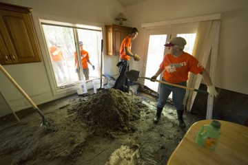 Samaritan's Purse U.S. Disaster Relief Colorado Flooding