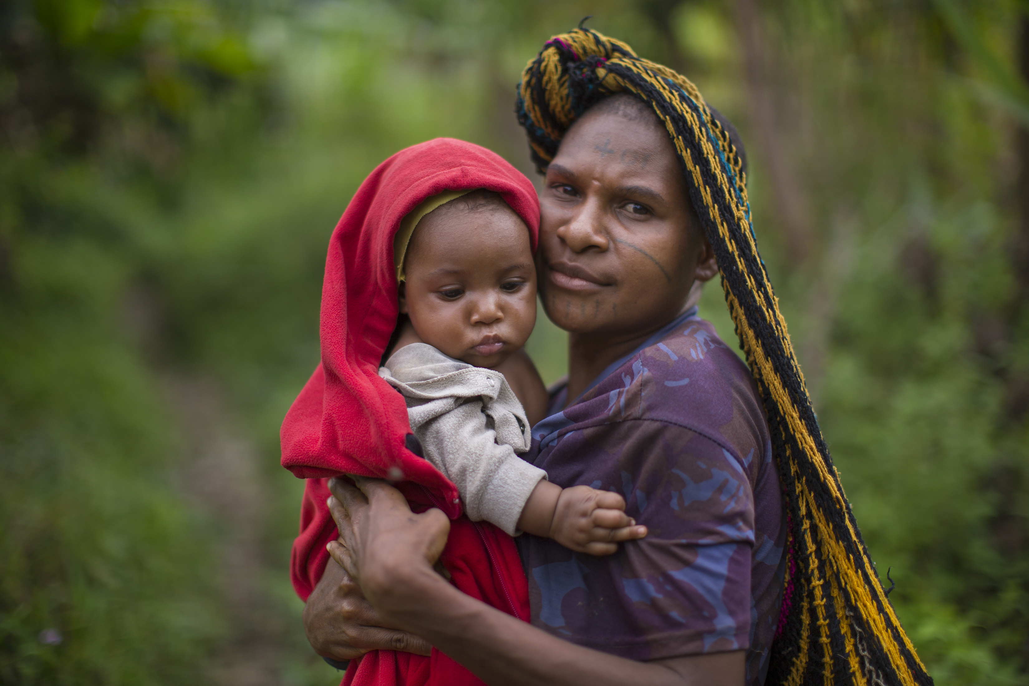 After the medical team left, women from outlying villages came to Yifki to ask Susan Kopf more questions about safe childbirth and infant care. Christ-centered medical care and education has brought new hope to the Hewa people.