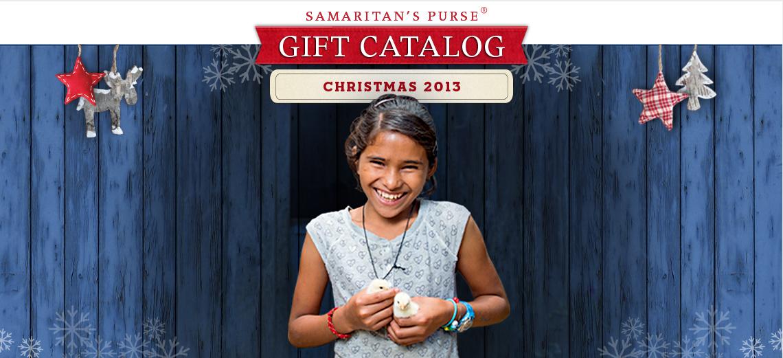 Samaritan's Purse Gift Catalog