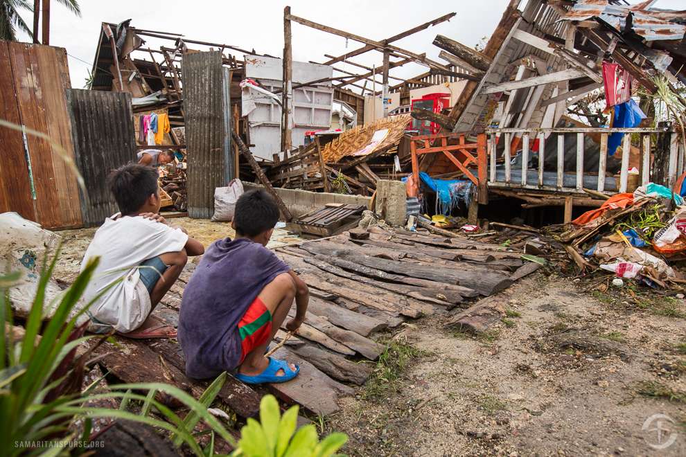 Survivors are left in shock as they assess the damage to their community, unsure of where to begin as they start the process of rebuilding.