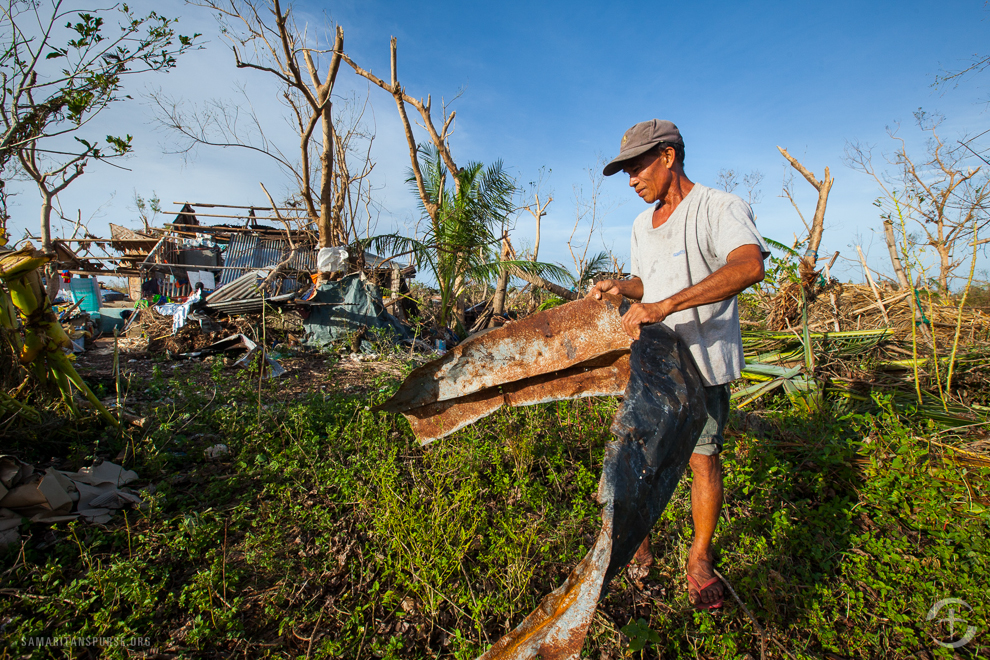 Victims begin the long road ahead of picking up the pieces of their lives after the typhoon. Samaritan's Purse is offering physical and spiritual support during this difficult time.
