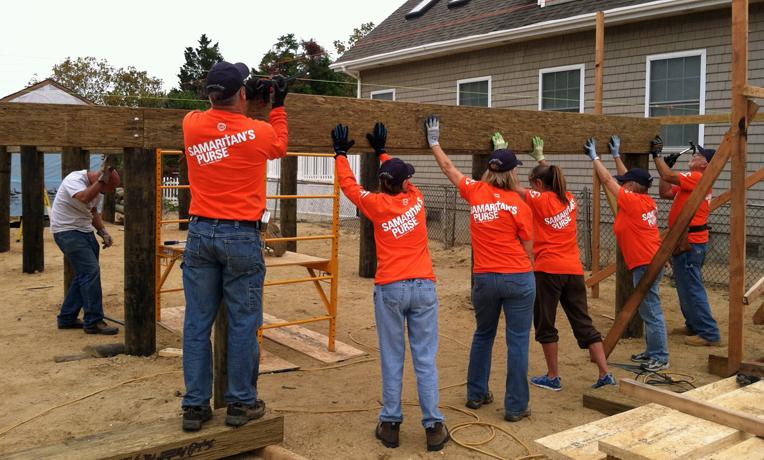 Samaritan's Purse New Jersey Rebuild