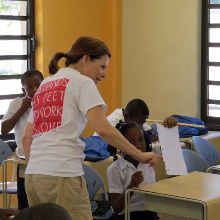 """""""Would you like to see Greta Home and Academy?"""" Greta asked Michele. """"It is the best place in Haiti!"""""""