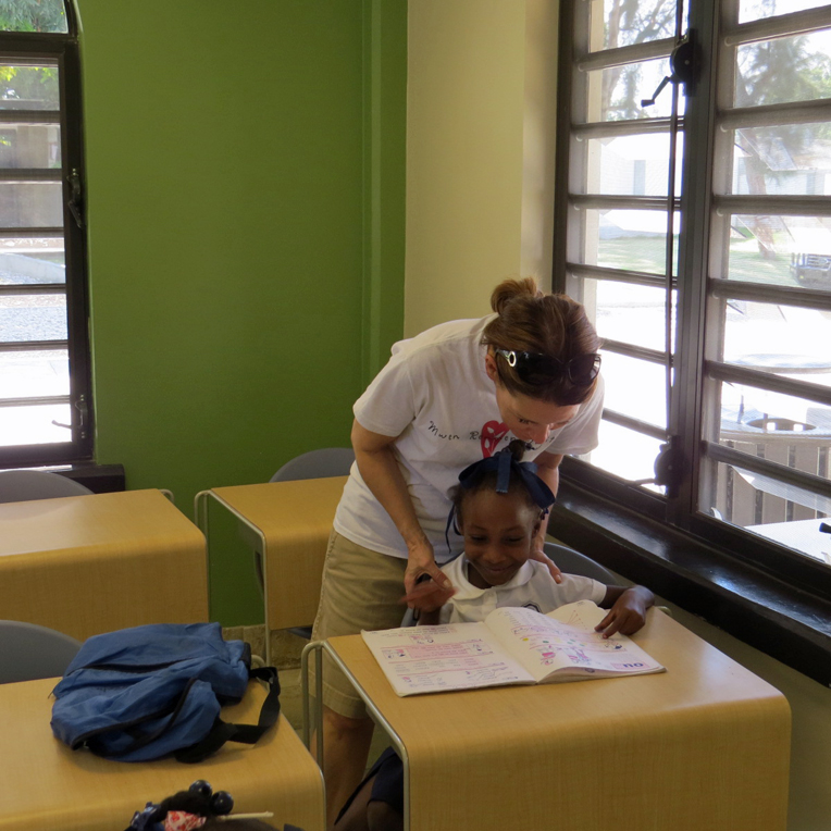 """The curriculum taught at the Greta Home is called """"Mwen Kapab!"""" (meaning """"I can!"""") and is centered on Christ. The goal is to produce graduates who are skilled and focused on Christ."""