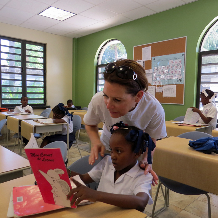 Reports indicate that only 50 percent of Haitian children have access to education. Only half the population is literate, and Haiti has the lowest primary school enrollment of any country in the Western Hemisphere. Greta Home is working to change those statistics.
