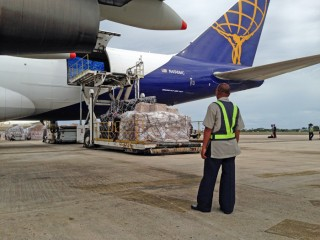 Airlifting Relief To The Philippines