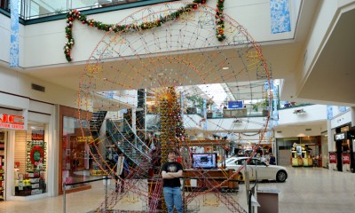 Fundraising Through a Record K'nex Ferris Wheel