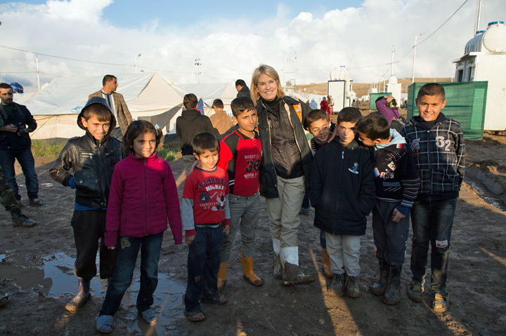 According to UN numbers, there are about 70,000 children living in refugee camps in Iraq.