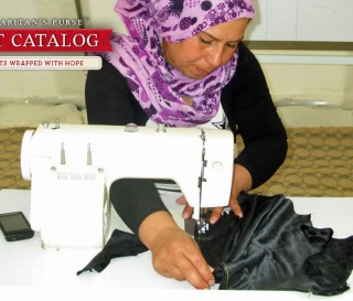 Sewing Warm Clothes for Syrian Refugees