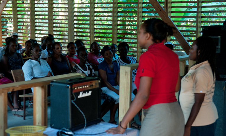 Overcoming Women's Poverty and Gender-Based Violence in Haiti