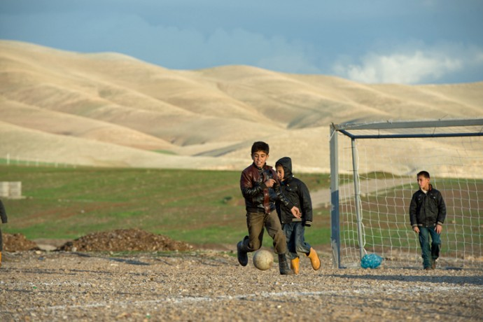 A Soccer Field for Syrian Refugees