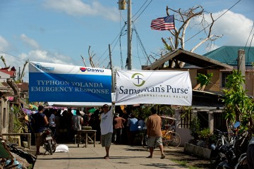 Samaritan's Purse is working with the World Food Programme to meet the needs of people who lost everything.