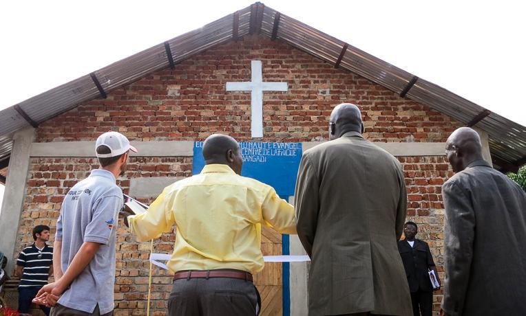 A New Church for Bangadi