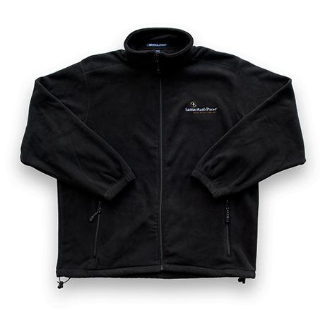 Disaster Relief Men's Black Fleece Jacket