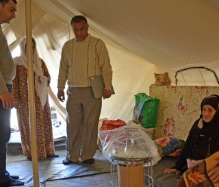 Warmth for Syrian Refugees
