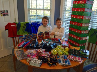 Soccer Balls and Shoeboxes for Syrian Refugees