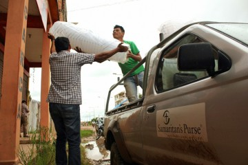 Samaritan's Purse is providing relief supplies in some of the hardest-hit areas.