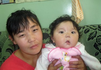 Suvd-Erdene's mother worries that her daughter won't receive the life-saving surgery she needs.