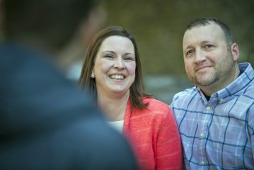 Retired Army Staff Sergeant Doug Cox and his wife, Amiee, discuss positive changes in their marriage since attending an Operation Heal Our Patriots marriage retreat in Alaska last summer.
