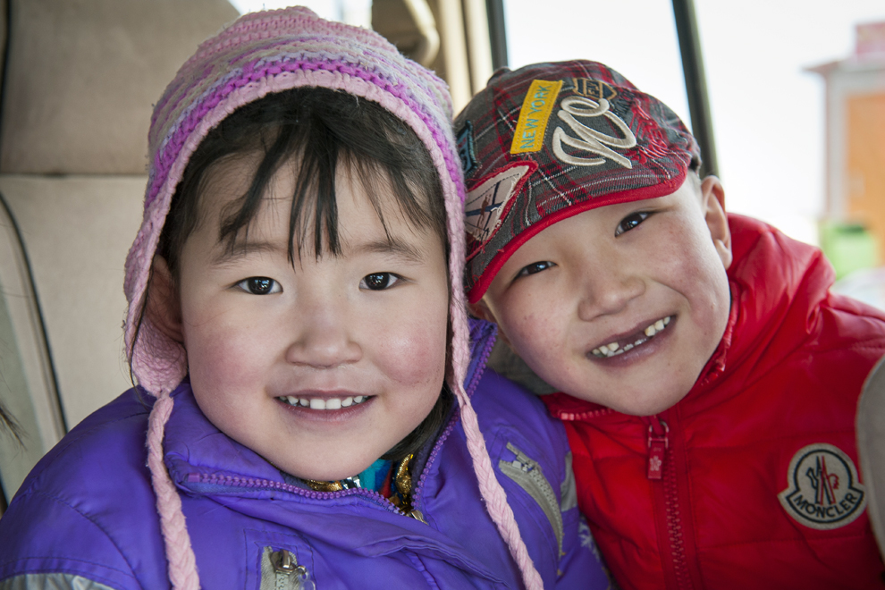 4-year-old Nomin (left) is the 1,000th child to receive surgery through Children's Heart Project. Magnai (right) also traveled from Mongolia to Minnesota for an operation.