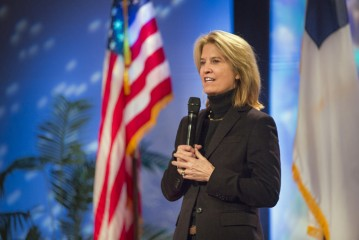 Greta Van Susteren, a friend of Franklin Graham who has reported on the work of Samaritan's Purse around the world, gave lessons learned from her 35 years of marriage.