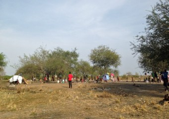 Samaritan's Purse is working with South Sudanese people living in camps after fleeing the violence.