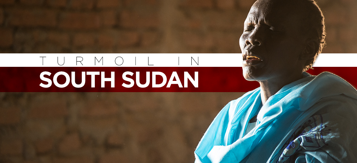 Turmoil in South Sudan Header